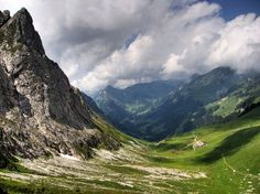 An image of Stockhorn, featured on our Guest Blog - Five of the Best Summer Activities in the Swiss Alps.