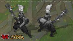 Ekko, League of Legends, Alexandr (LittleDruid) Pechenkin on ArtStation at https://www.artstation.com/artwork/xqXW1