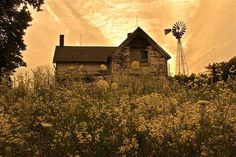 Day's End by Cyndra Whitehead on Capture Wisconsin // So many old farm houses slowly disappearing from the landscape.