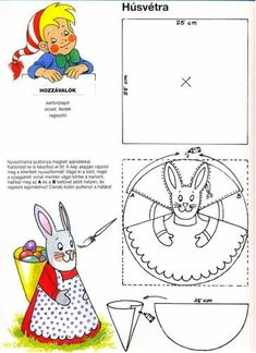 Easter Art, Easter Crafts, Easter Colouring, Christmas Crafts For Kids To Make, Unicorn Crafts, Holiday Crochet, Easter Printables, Happy Easter, Art For Kids