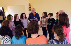"""Cuentalab especial """"Lenguajes no verbales en la narración oral"""" con Moisés Mendelewicz - 19 de marzo - Fotografía: Arturo Prieto"""