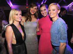 Reese Witherspoon, Jennifer Garner, Allison Williams & Elizabeth Banks