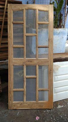 Interior wood doors are naturally beautiful. Single Door Design, Wooden Front Door Design, Double Door Design, Wooden Front Doors, House Window Design, Home Door Design, Pooja Room Door Design, Door Design Interior, Door Design Images