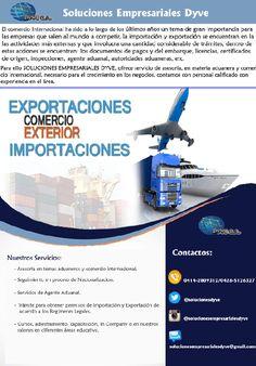 #asesoría #capacitación Asesoría en materia Aduanera e Internacional SOLUCIONES EMPRESARIALES DYVE, C.A. Su aliado de confianza