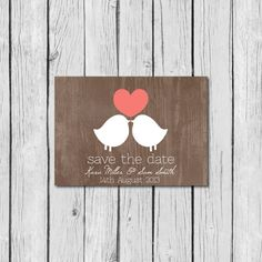 Save the date Shabby Chic Wedding Invitations, Save The Date Invitations, Rustic Invitations, Wedding Stationary, Wedding Wows, Our Wedding, Dream Wedding, Wedding Ideas, Wedding Prints
