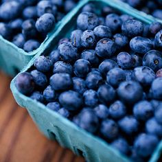 Blueberries  Ranked number one in antioxidants, the antioxidants in blueberries protect you from premature aging, so add half a cup to your yogurt or cereal every day.