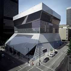 Seattle Public Library - Central building