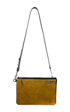Phillip Lim Haircalf Racer Flap Clutch With Strap #bag