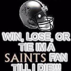 Real nola chic...who dat nation