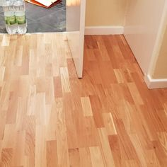 Hardwood flooring installation