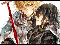 Mika & Yuu   Owari no Seraph / Seraph of the End