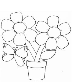 115 Best Flower Coloring Pages Images Coloring Pages For Kids