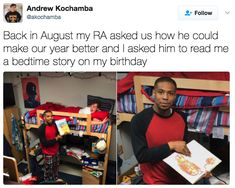 The kindest RA: | 24 Pictures That Will Make You Way Happier Than They Should