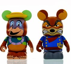 Disney Afternoon Vinylmation Kit Louie and Don Karnage, Tail Spin