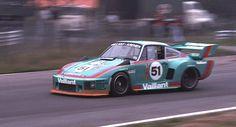 Bob Wollek am Steuer des Kremer-Porsche 935 K2 – Müsste in Zolder 1977 aufgenommen sein…