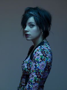 Lilly Allen by Nadav Kander