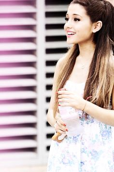 Ariana Grande- Her voice is so angelic! She truly got the gift of singing, from God.