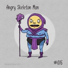 I think we all knew this was coming right? #wickedcrispy #birdlice #dailysketch #dailycosplay #motu #skeletor by grinetastic