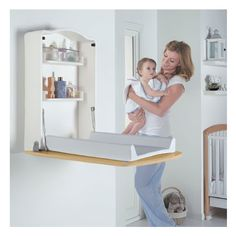 Komodo Wall Changing Table | Wayfair UK