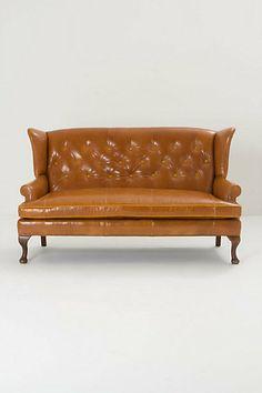 Howell Wingback Sofa #anthropologie