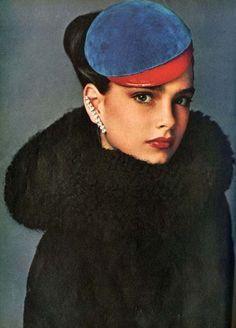 Brook Shields for Vogue US, July 1978. Photo by Richard Avedon.