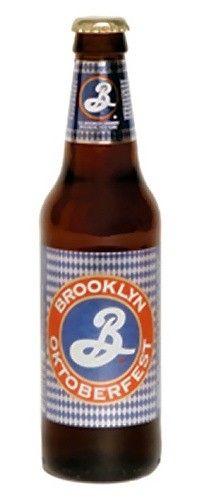 Cerveja Brooklyn Oktoberfest, estilo Oktoberfest/Marzen, produzida por Brooklyn Brewery, Estados Unidos. 5.5% ABV de álcool.