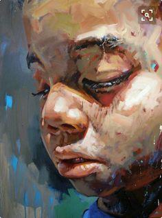 Artist: kevin moore paintings of faces, portrait paintings, art paintings, Figure Painting, Painting & Drawing, Pintura Graffiti, Figurative Kunst, A Level Art, Portrait Art, Portrait Paintings, Art Plastique, Face Art