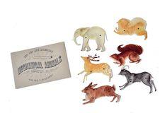 Mechanical Animals-animal paper dolls. $25.00, via Etsy.