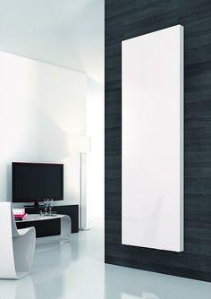 Reina Neva Vertical Blanc Designer Radiateur-double panneau
