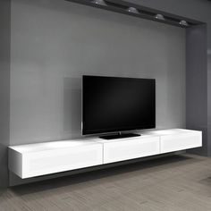 Floating Tv Stand For Tvs.Modern Design Floating TV Stand For Clutter Free Your Room. Reclaimed Wood And Steel Floating Entertainment Center . Home and Family Floating Media Cabinet, Floating Tv Unit, Floating Shelves Entertainment Center, Floating Tv Stand, Floating Floor, Floating Wall, Entertainment Centers, Floating Tv Console, Wall Mount Tv Stand