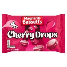 Maynards Cherry Drops 4 Pack 180g