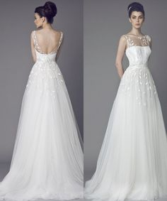 Tony Ward Wedding Dresses 2015 Collection. To see more: http://www.modwedding.com/2014/07/01/tony-ward-wedding-dresses-2015-collection/