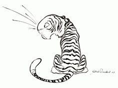 Tiger_Inked2 | Chris Sanders  http://www.chrissandersart.com