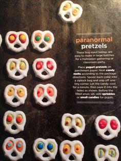 Paranormal Pretzels