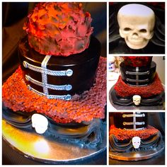 My Chemical Romance cake. amazing!<<< the best cake anyone could ask for