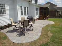 Stone Patio Ideas For Natural Look | Nicholas W Skyles