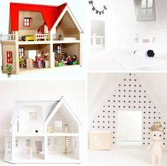 Image result for dollhouse wallpaper scandi