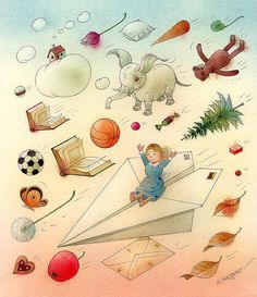 The Dream Poster By Kestutis Kasparavicius