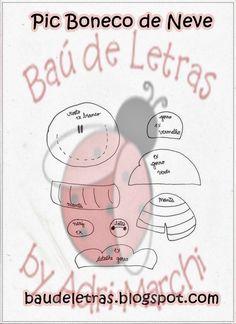 ARTE COM QUIANE - Paps,Moldes,E.V.A,Feltro,Costuras,Fofuchas 3D: 13 moldes de natal que voce precisa ter
