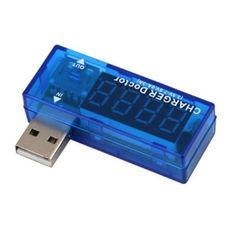 Pil Test Cihazı USB Şarj Doktor Mobil Güç Dedektörü Gerilim Metre Voltmetre Test