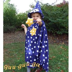 child wizard costume girl boy baby toddler por GuuGuuGa en Etsy