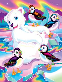 Roary '96 Art Print by Lisa Frank at Art.com