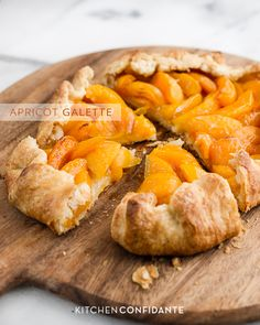 Apricot Galette | www.kitchenconfidante.com made this today with fresh apricots from the okanagan