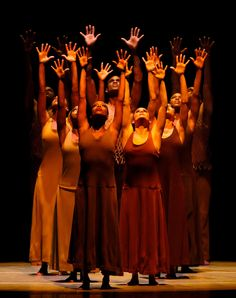 The Company in Alvin Ailey's Revelations
