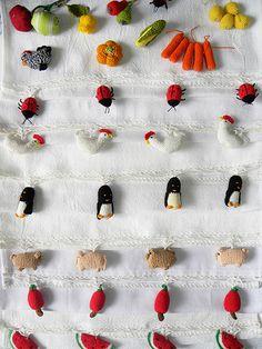 Panos de Prato de Frutas, Legumes e Bichinhos em Crochê | Flickr – Compartilhamento de fotos!