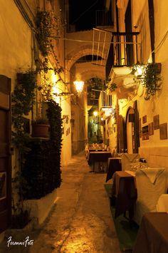 Vicolo di Vieste, Foggia, Italy (where my paternal grandparents came from!)
