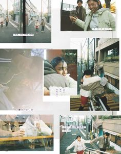 Couple Photography Poses, Film Photography, Retro, Japanese Photography, Japanese Graphic Design, Ulzzang Couple, Film Aesthetic, Photo Layouts, Graphic Design Posters