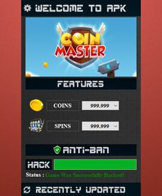Want some free spins and coins in Coin Master Game? If yes, then use our Coin Master Hack Cheats and get unlimited spins and coins. Cheat Online, Hack Online, Coin Master Hack, Play Hacks, App Hack, Free Cards, Cheating, Spinning, How To Get