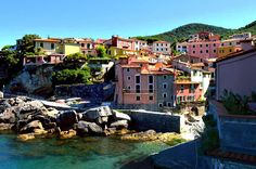 Tellaro Harbour, Gulf of Poets, Italy