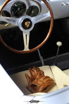 Interior of Porsche 550 Spyder